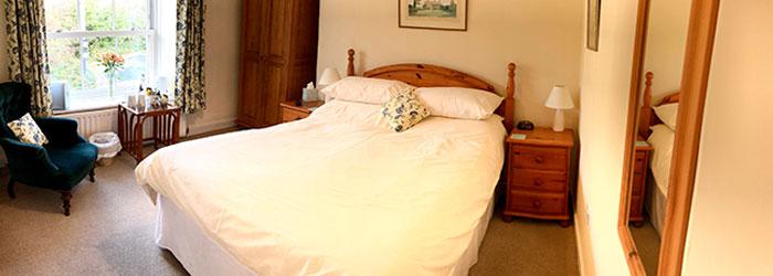 Lynwood House Blue Bedroom
