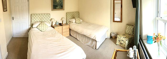 Lynwood House Twin bedroom