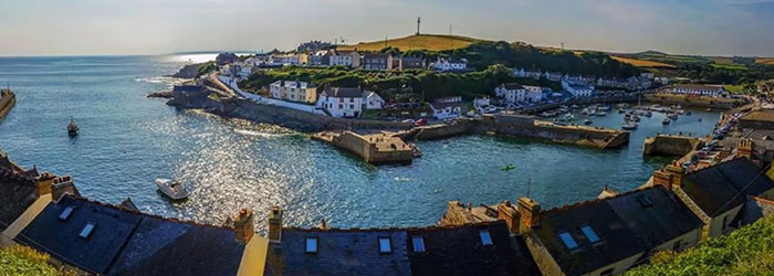 Porthleven on The Lizard in West Cornwall