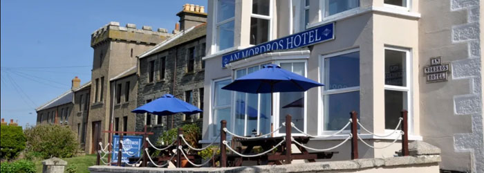 The An Mordros Hotel in Porthleven on The Lizard