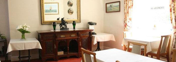 The Caerthillian breakfast room