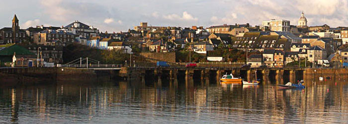 Torwood House Hotel - Penzance from the harbour